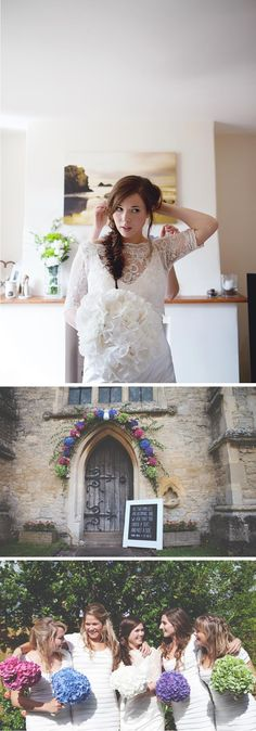 I absolutely love her dress! But she made it herself so I'd need some mad skills to pull this off!...