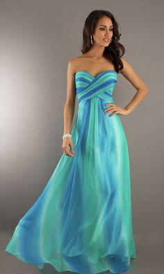 if I was going to prom this year this would be my princess mermaid dress