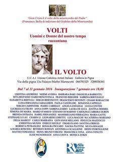 """""""Il Volto"""" Galleria la Pigna, Palazzo Vicariato Maffei Marescotti Roma"""