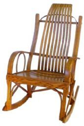 Shaum's Chair Shop | 502R Large Bent Rocker