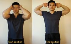 How to fix Rounded Shoulders - Posture Direct Rounded Shoulder Exercises, Shoulder Pain Exercises, Shoulder Blade Muscles, Shoulder Posture, Fix Your Posture, Good Posture, Scapula Exercises, Fix Rounded Shoulders, Fitness Exercises