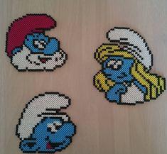 Smurfs hama beads by joanvilladsen