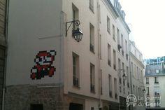 Space Invaders in Paris.