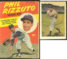Sport Fanartikel 1951 Wheaties Cartoon Ad Seite Phil Rizzuto ~ Ny Yankees