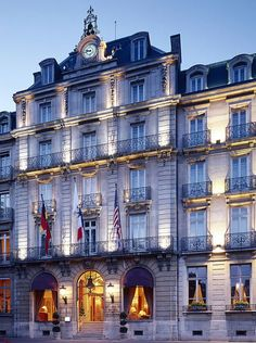 This historic five star hotel, part of the MGallery Collection, opened in 1884. Commercial Architecture, France, Landscapes, Europe, Star, Country, World, Luxury, Collection
