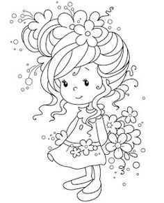 – Whimsy Stamps , Wee, Sylvia Zet Cards I like - Malvorlagen Mandala Whimsy Stamps, Digi Stamps, Digital Stamps Free, Coloring Book Pages, Coloring For Kids, Printable Coloring, Cute Drawings, Embroidery Patterns, Ribbon Embroidery
