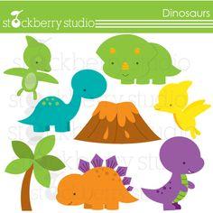 Dinosaurs - Cliparts - Mygrafico.com