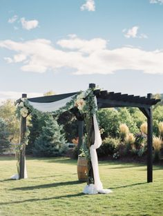 Obsessed! http://www.stylemepretty.com/colorado-weddings/2015/03/02/rustic-fall-wedding-at-crooked-willow-farms/ | Photography: Ashley Sawtelle - http://ashleysawtelle.com/