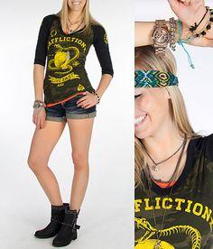 'Snake Eyes' #buckle #fashion www.buckle.com