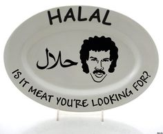Halal - Is it meat you're looking for? #Lionel_Richie #hello #pun