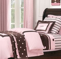 Pink And Brown Bedroom This Is The Colour Scheme Id Love For Nicole S Room Cute