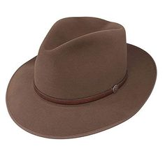 d073e4c1d83 Indiana Jones Mens Water Repellent Wool Felt Fedora