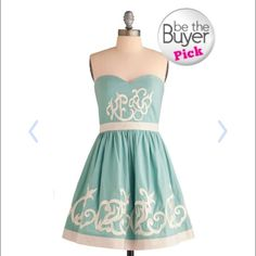 Modcloth Royal Icing Dress