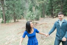 Mountain Engagement Pictures.  Photography by www.leahvis.com