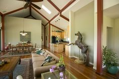 Living room with carousel horse, could have added to the wall and decorated it more. Carousel Horses, Oversized Mirror, My House, Rocking Horses, Living Room, Interior, Wall, Graphics, Decorating