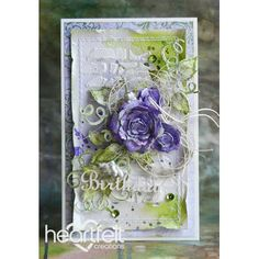 Gallery | Lavender Classic Rose Birthday - Heartfelt Creations