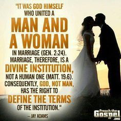Heterosexual marriage meaning quotes