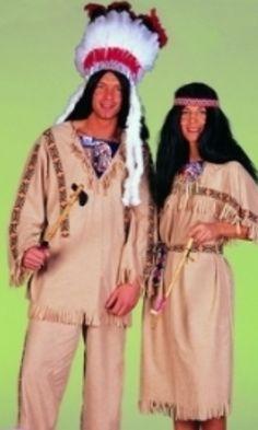 Indiaan man & vrouw