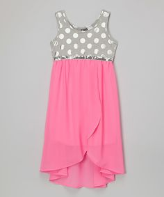 Look at this Neon Pink Lola Dress on #zulily today!