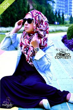 shades and hijab <3