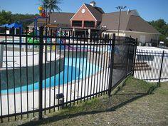 Black ornamental fence (503)760-7725