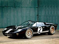 Ford*s GT40 Voted top Le Mans Car of the 1960s :: via Hemmings