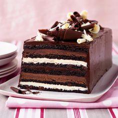 Chocolate Truffle Layer Cake Recipe - Kimberly Sklar | Food & Wine