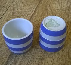 EGG CUPS | Cornishware: By T.G. Green     ✫ღ⊰n