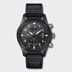 IWC Pilot's Watch Chronograph Top Gun; a whopping 46mm. about $12,000