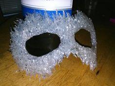 Ice Princess masquerade mask