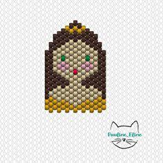 Quelques diagrammes ! #jenfiledesperlesetjassume #miyuki #disney #princess #princesse #brickstitch #beadwork #diagramme #diagrammeperles #beadpattern #motifpauline_eline