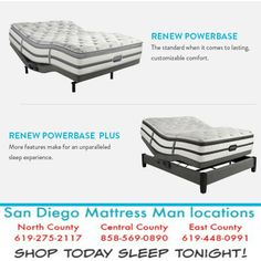 adjustable beds on sale sandiegomattressmancom save up to 400 on adjustable beds santee mattress - Adjustable Beds For Sale 2