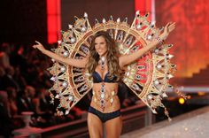 Alessandra Ambrosio walks the runway during the 2011 Victoria's Secret Fashion Show