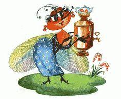 В гостях у Мухи-Цокотухи. Удивительные насекомые. | это интересно | Постила
