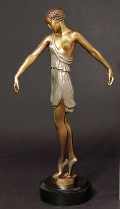 Pierre Le Faguays 1892-1935 ~ Prolific Art Déco French sculptor.