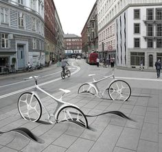 Park your bicycle