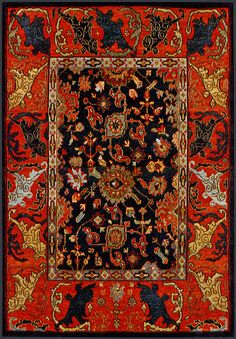 Indian Bidjar Oriental rug