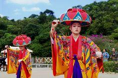 Ryukyu dancers