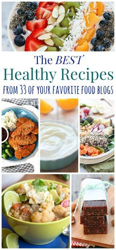 Diy 45 healthy foods to make and never buy again food recipes the best healthy recipes from 33 favorite food blogs forumfinder Images