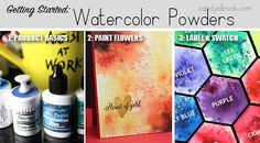 Sandy Allnock Getting Started with Watercolor Powders