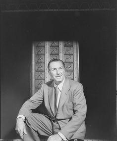 Walt Disney (photo by J.R. Eyerman, 1953, LIFE collection)