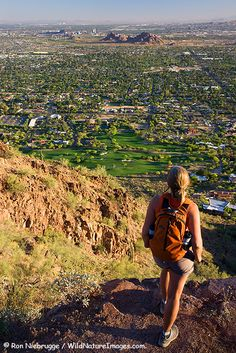 Hiking on Camelback Mountain, Phoenix, Arizona  If we move to Phoenix I will have the most amazing succulents Clayton already promised me :)