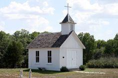 Tiny Texas Chapel - Cedar Hill Farmhouse
