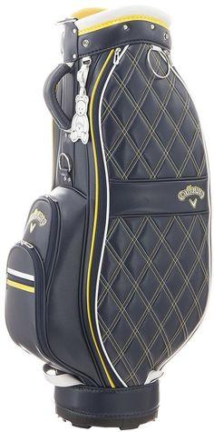 a635182916e8 Callaway Golf PU Sport Cart Bag Women s 16JM Ladies Caddie Bag Navy    Yellow  Callaway