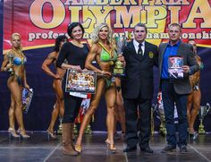Slovak fitness star Eva Martinková has just won the title of Model Fitness Overall Amateur World Champion at the WFF-WBBF (World Fitness Federation, World Body Building Federation) championships in Lithuania.  Photo: TASR - Ľubomír Martinka