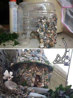 Stunning Fairy Garden Miniatures Project Ideas 104