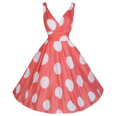 Brand New With Tags 50s Coral Polka Dot Print Cotton Sleeveless Rockabilly Pin-Up Dress – RRP £45 – Grab A Bargain With Pretty Kitty!! Stunning Large White Polka Dot Print Against A Sumptuous Coral Background On A Luxurious Soft Feel Lightweight Cotton Fabric With Elegant Drape !! One Of The Hottest Colours For The New […]