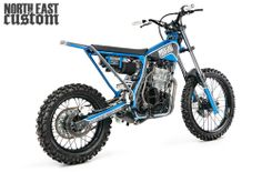 North East Custom Honda Dominator TWO