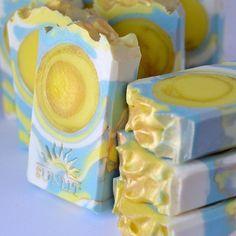 Sunrise - cold-process soap