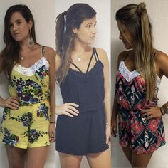 Macaquinho - Fashion - Renda - Lace - Floral - Flower - Estampa - Estamparia